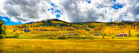 Silverthorne Colorado Just as Fall is Beginning